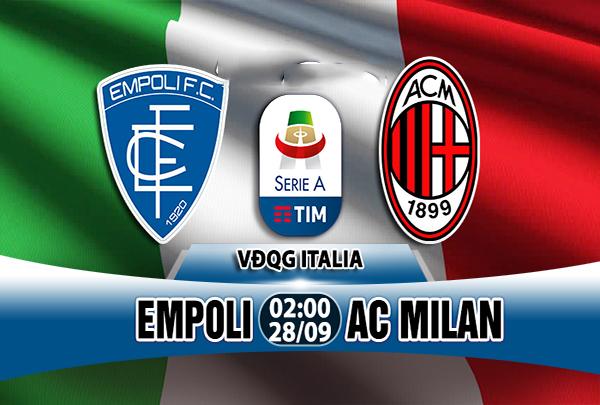 Nhận định Empoli vs AC Milan