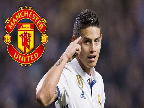 Chuyển nhượng 31/10:  James Rodriguez có thể sang Man United