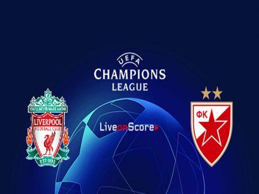 Nhận định Liverpool vs Crvena Zvezda