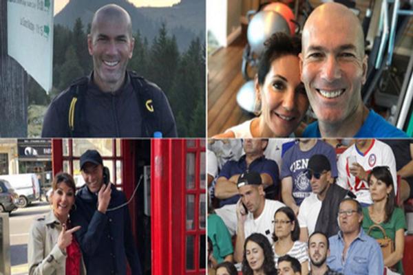 tin bên lề ngày 15/10: zidane tận hưởng cuộc sống