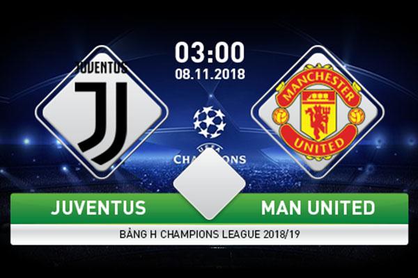 Nhận định Juventus vs Man United