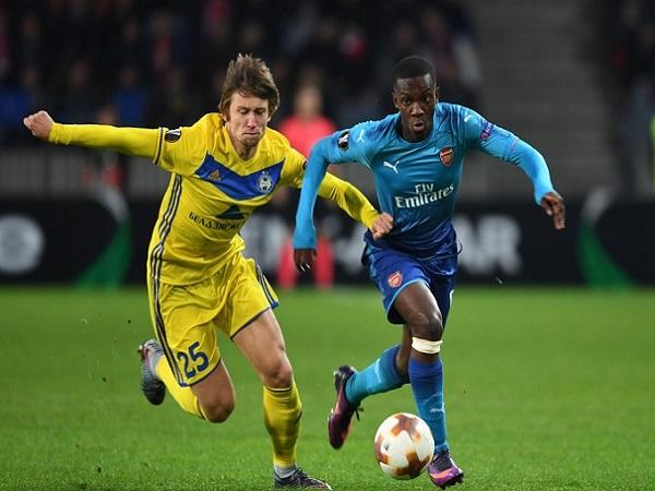 Nhận định BATE Borisov vs Arsenal 00h55, 15/02 (Cúp C2 Châu Âu)