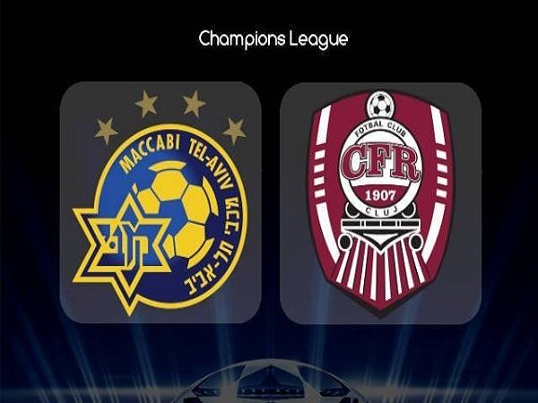 Nhận định Maccabi Tel Aviv vs CFR Cluj, 0h00 ngày 31/07