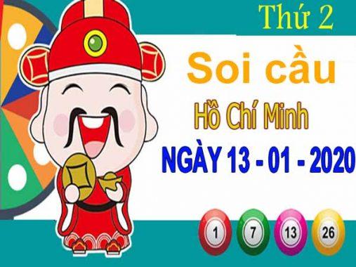 Soi cầu XSHCM ngày 13/1/2020 – Soi cầu xổ số Hồ Chí Minh thứ 2