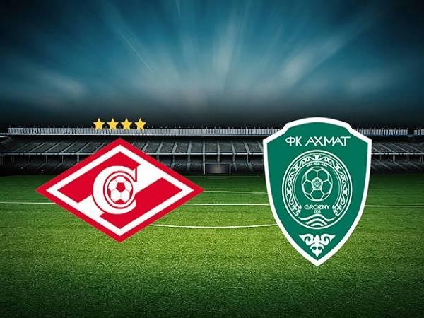 Nhận định Spartak Moscow vs Akhmat Grozny 00h00, 15/08 - VĐQG Nga