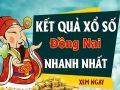 Soi cầu XS Đồng Nai chính xác thứ 4 ngày 12/08/2020
