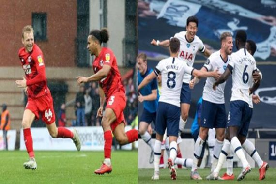 Tin bóng đá sáng 23/9: Trận đấu giữa Tottenham và Leyton Orient bị hoãn
