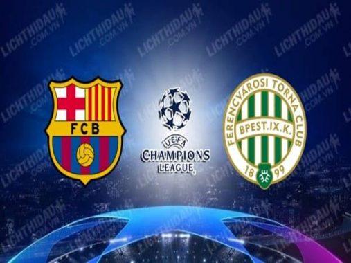 Nhận định Barcelona vs Ferencvarosi, 02h00 ngày 21/10