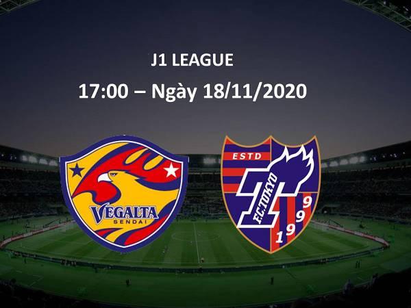 Nhận định Vegalta Sendai vs FC Tokyo, 17h00 ngày 18/11/2020