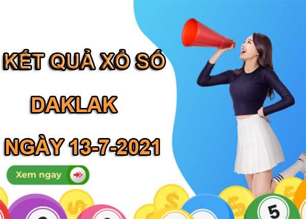 Soi cầu sổ xố Daklak thứ 3 ngày 13/7/2021