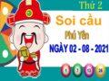 Soi cầu XSPY ngày 2/8/2021 – Soi cầu xổ số Phú Yên thứ 2